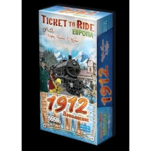 Ticket to Ride: Европа 1912